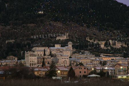 Gubbio is a medieval town of Umbria region in Italy