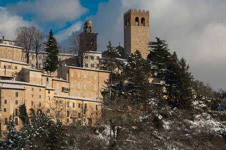 Nocera Umbra is a medieval italian village in the umbria region