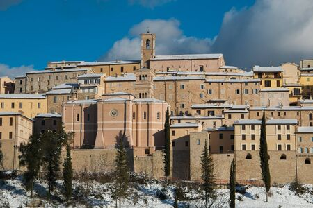 Nocera Umbra is a beautiful italian medieval village Editorial