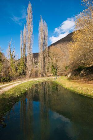 ness river: River Vigi near Sellano in Umbria