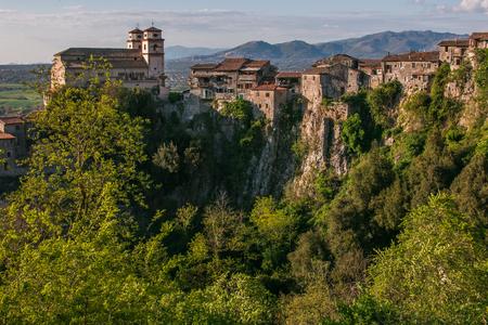 Beautiful view of Artena village in Lazio