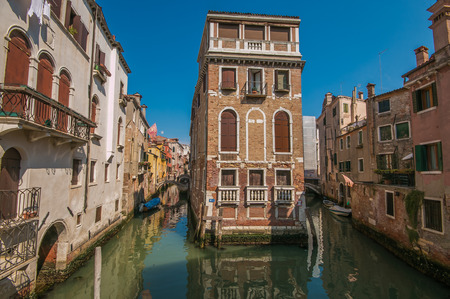 The historic center of Venice in Italy