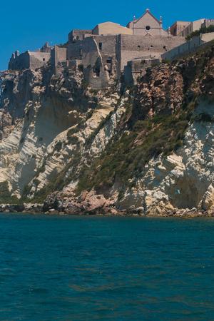 The sanctuary of Santa Maria a Mare in the Tremiti islands Stock Photo