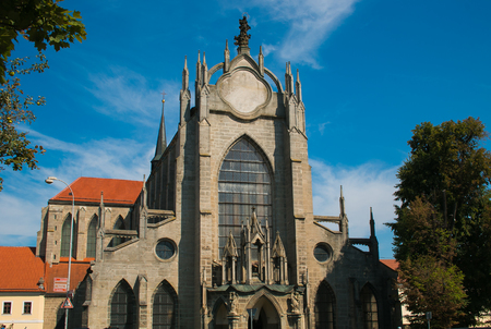 Church of the Assumption of Our Lady and Saint John the Baptist in Kutna Hora, Bohemia, Czech Republic