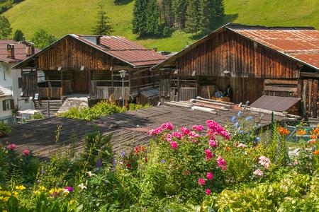 Sottoguda village in the Italian dolomites