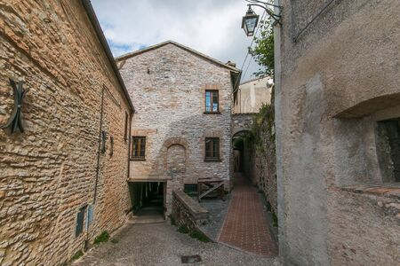 Historic center of Fossato di Vico in Umbria