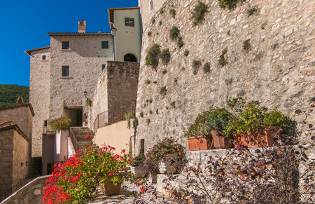 Castello di Postignano is an ancient medieval village in the heart of Valnerina in Umbria, brought back to life by an extraordinary restoration work