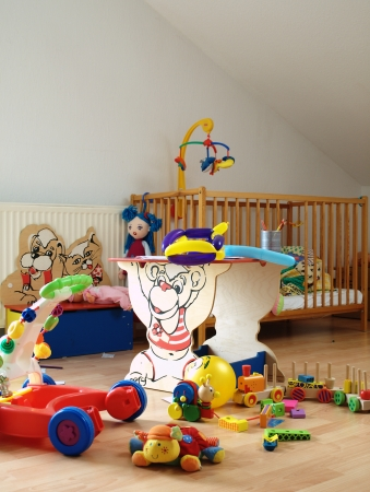 Chaos in the nursery Stock Photo - 13988173