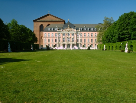 electoral: The electoral palace, Trier  Germany  Editorial
