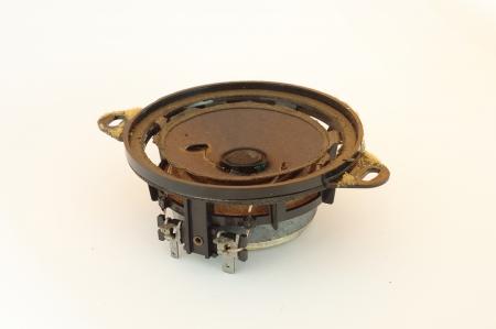 Old and broken car speaker s