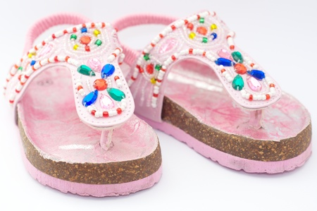 Children s sandals Stock Photo - 15087525