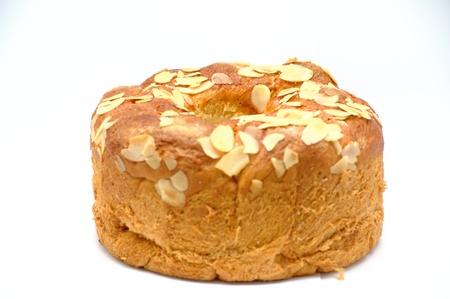 Traditional sweet bread in eastern Europe