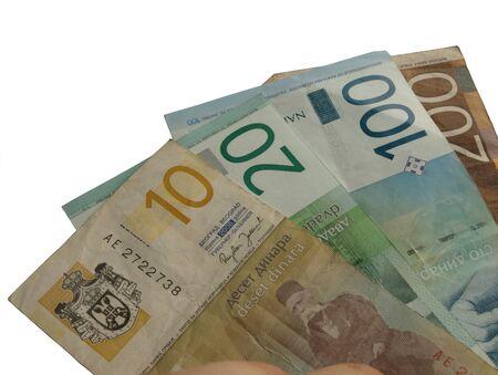 dinar: Serbian dinar banknotes