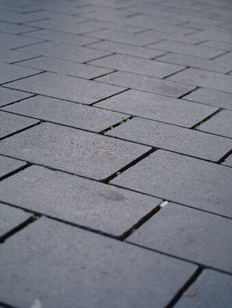 A gray pavement (close up)