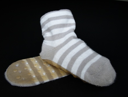 Anti-slip socks Stock Photo