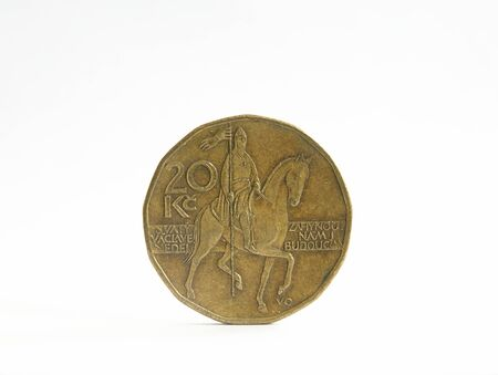 20 czech crowns Stock Photo
