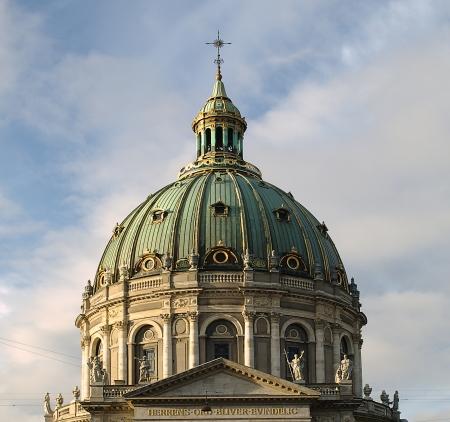 The Marble Church, Copenhagen Stock Photo