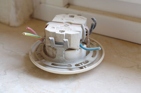 kw: Old electrical installation
