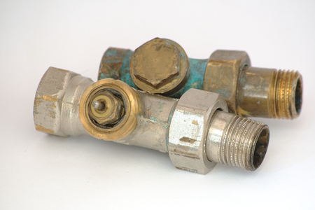 Thermostatic radiator valve old, used, secondhand