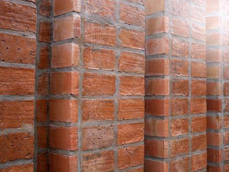 Red Bricks Pattern for Background.