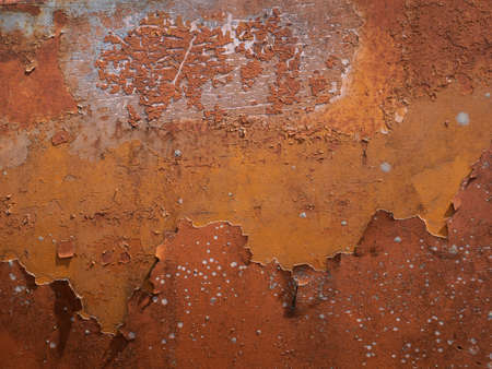 Close up Texture of rusty metal for Background. Archivio Fotografico