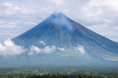mayon: Mayon,Volcano Stock Photo