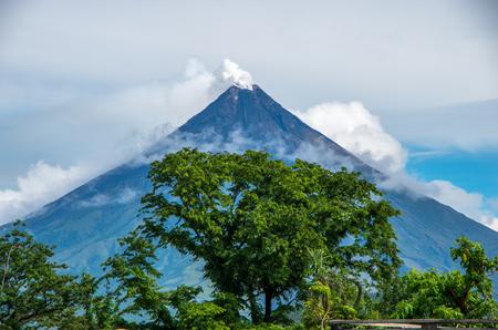 mayon: Mayon,Volcano Stock Photo