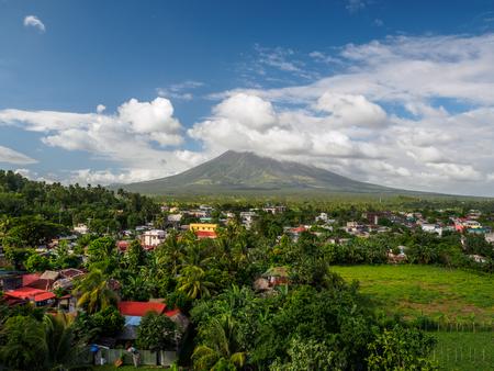mayon: Mt Mayon Stock Photo
