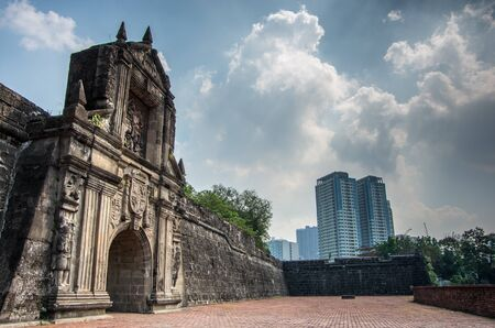 1. Mai 2016 Fort Santiego Intramuros Manila, Philippinen Editorial