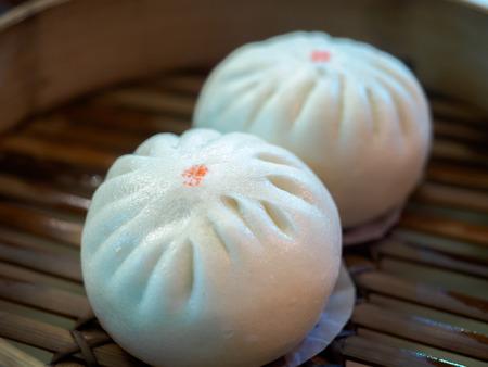 Chinese style bun Stock Photo