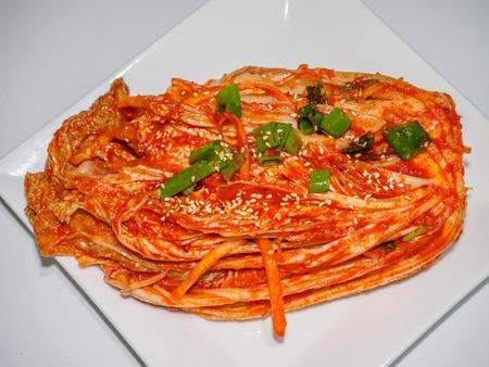 Korean traditional food kimchi