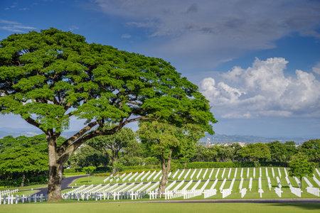 solider: Manila American Cemetery, Metro Manila, Philippine Editorial