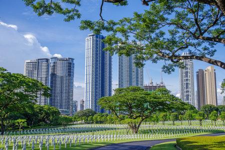 philippine: Manila American Cemetery, Metro Manila, Philippine Editorial