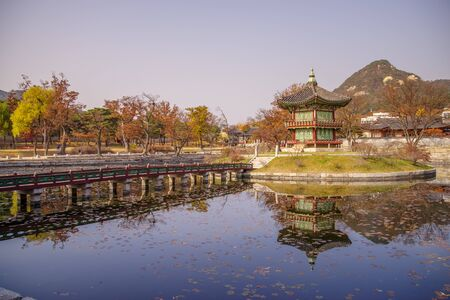 16: Nov 16,2016 at Gyeongbokgung Palace, Seoul, Korea Editorial