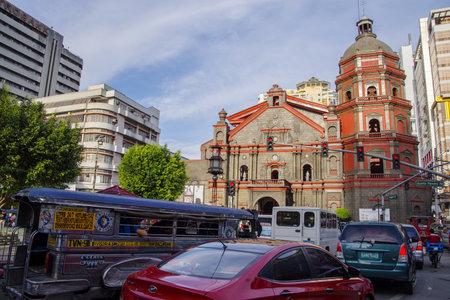 Nov 27, 2016 Minor Basilica of St. Lorenzo Ruiz at Ongpin China town, Manila, Philippines