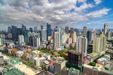 Skyview at Manila, Philippines Stock Photo