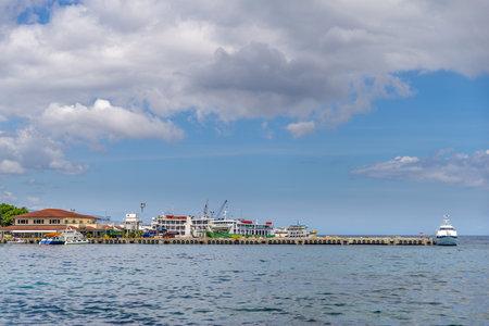 Mar 2,2017 Port of Dumaguete at Dumaguete City, Philippines