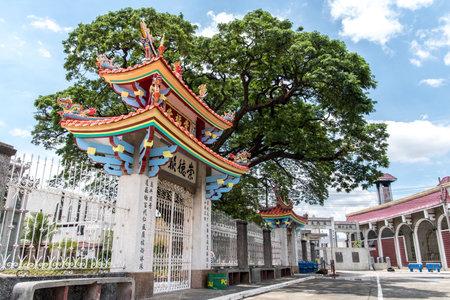 lifecycle: 11 de junio, templo taoísta en el cementerio chino de Manila, Manila, Filipinas