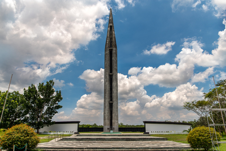 Capilla Nacional de Capas, Capas, Filipinas - para conmemorar a los soldados aliados que murieron en el Campamento O'Donnell al final de la Marcha de la Muerte Bataan durante la Segunda Guerra Mundial