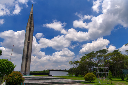 Capas National Shrine, Capas, Philippines - for memorial to Allied soldiers who died at Camp ODonnell at the end of the Bataan Death March during the Second World War