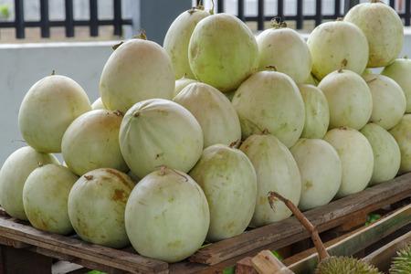 sweet tropical fruit Honeydew Stock Photo