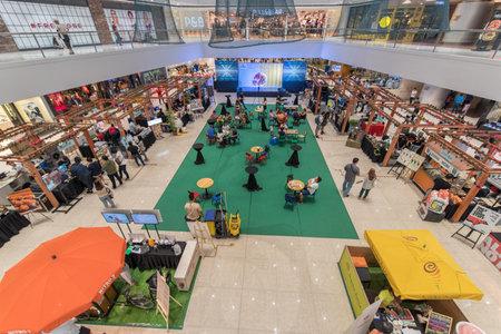 Sep 10, 2017  event hall at SM Megamall , Manila , Philippines Editorial