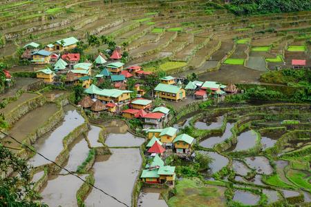 Dec 31,2017 A famous tourist destination  Batad  Village , Banaue , Philippines
