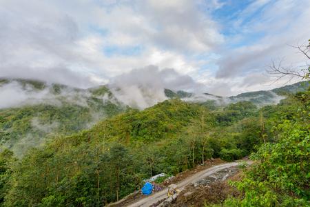beautiful landscape in Banaue , Philippines
