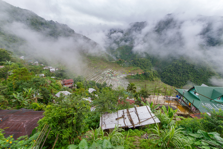 beautiful landscape  Batad rice terrace  in Banaue, Philippines Editorial