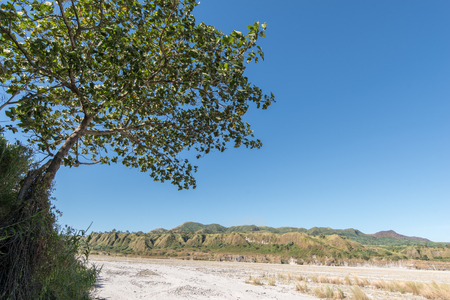 Hermoso paisaje en la montaña Pinatubo, Capas, Filipinas