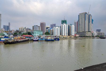 Jan 21,2018 Manila Landscape view from Fort Santiago , Intramuros, Manila, Philippines