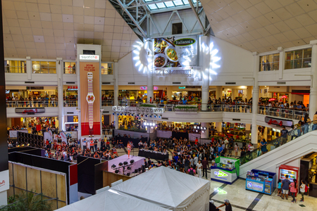 Feb 24, 2018 People watch event at Glorietta mall , Makati city, Merto Manila, Philippines