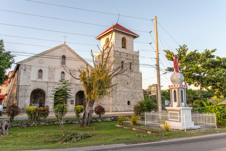 Baclayon church, one of the oldest churches in Bohol, Philippines