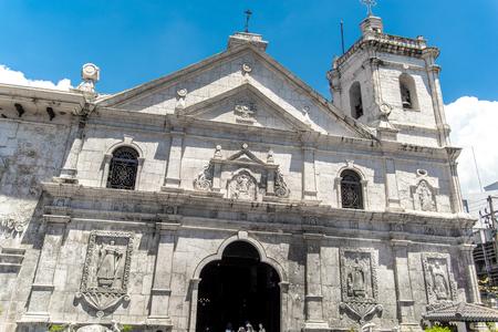 santo nino church in cebu city, Philippines Imagens